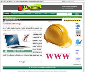 Desarrollo y programación Páginas Web